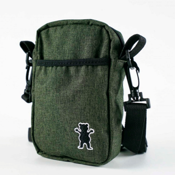 Shoulder Bag Grizzly GG Bear Classic  Heather Verde
