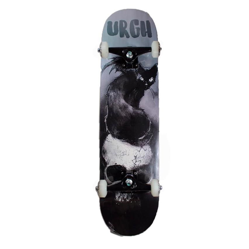 Skate Montado Especial Urgh Black Cat 8
