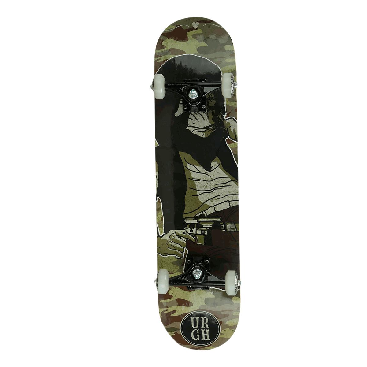 Skate Montado Especial Urgh Camufle 8