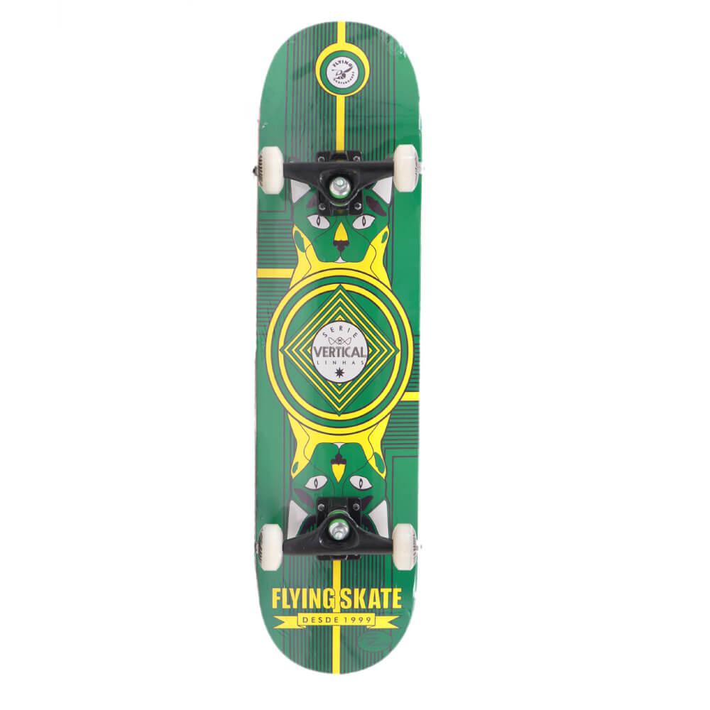 Skate Montado Flying Serie Pro Vertical 8.0