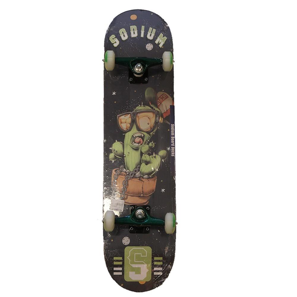 Skate Montado Iniciante Sodium Cacto