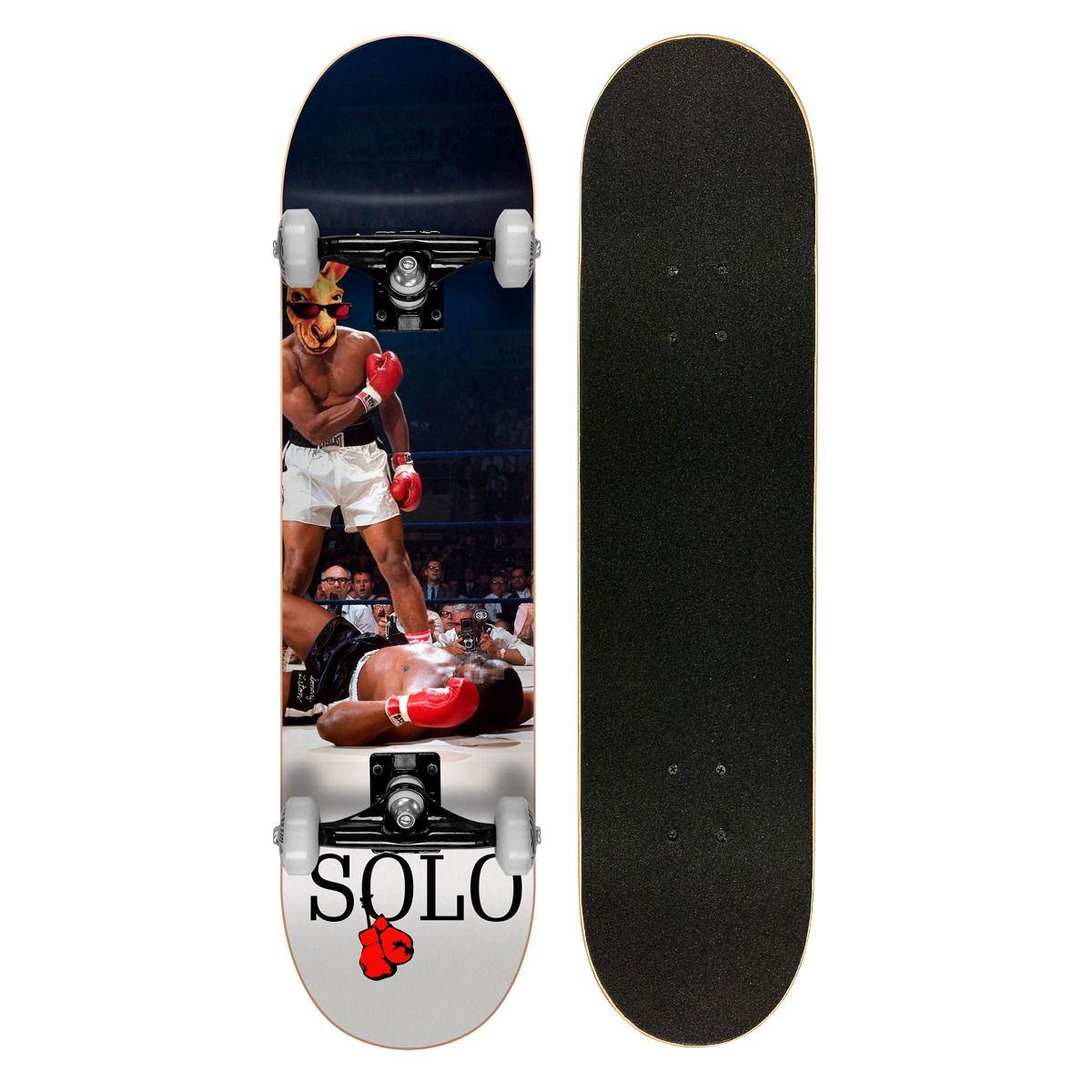 Skate Montado Iniciante Solo Decks Nocaute