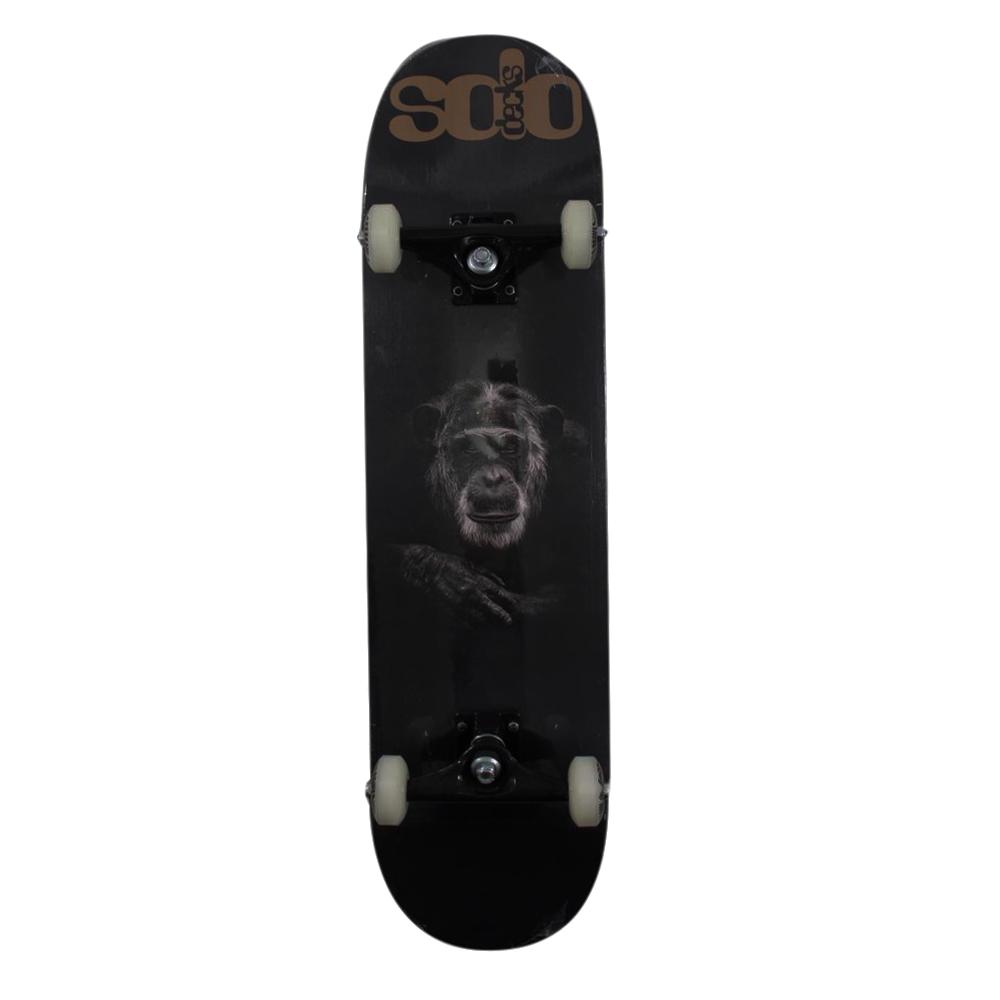 Skate Montado Iniciante Solo Decks Pro Monkey