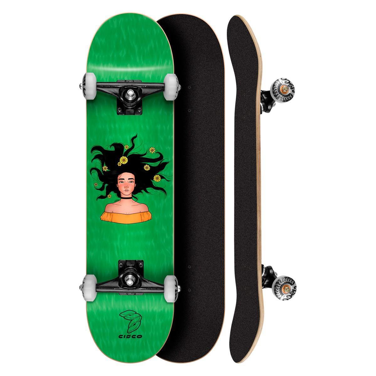 Skate Montado Profissional Cisco Freedom 8