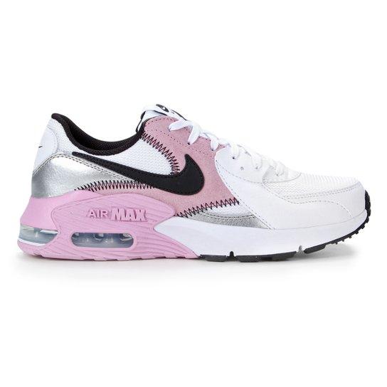 Tênis Nike Air Max Excee Feminino - Branco e Rosa