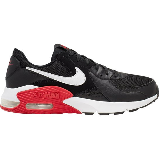 Tênis Nike Air Max Excee - Preto e Vermelho
