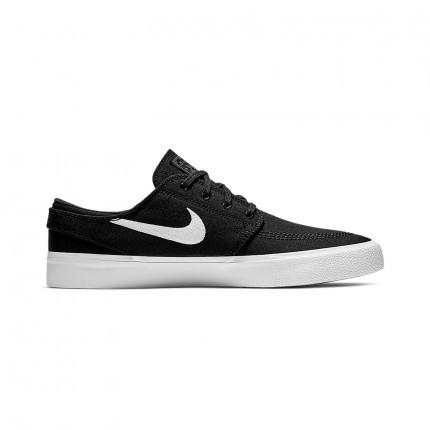 Tênis Nike SB Zoom Stefan Janoski Canvas Preto/Branco