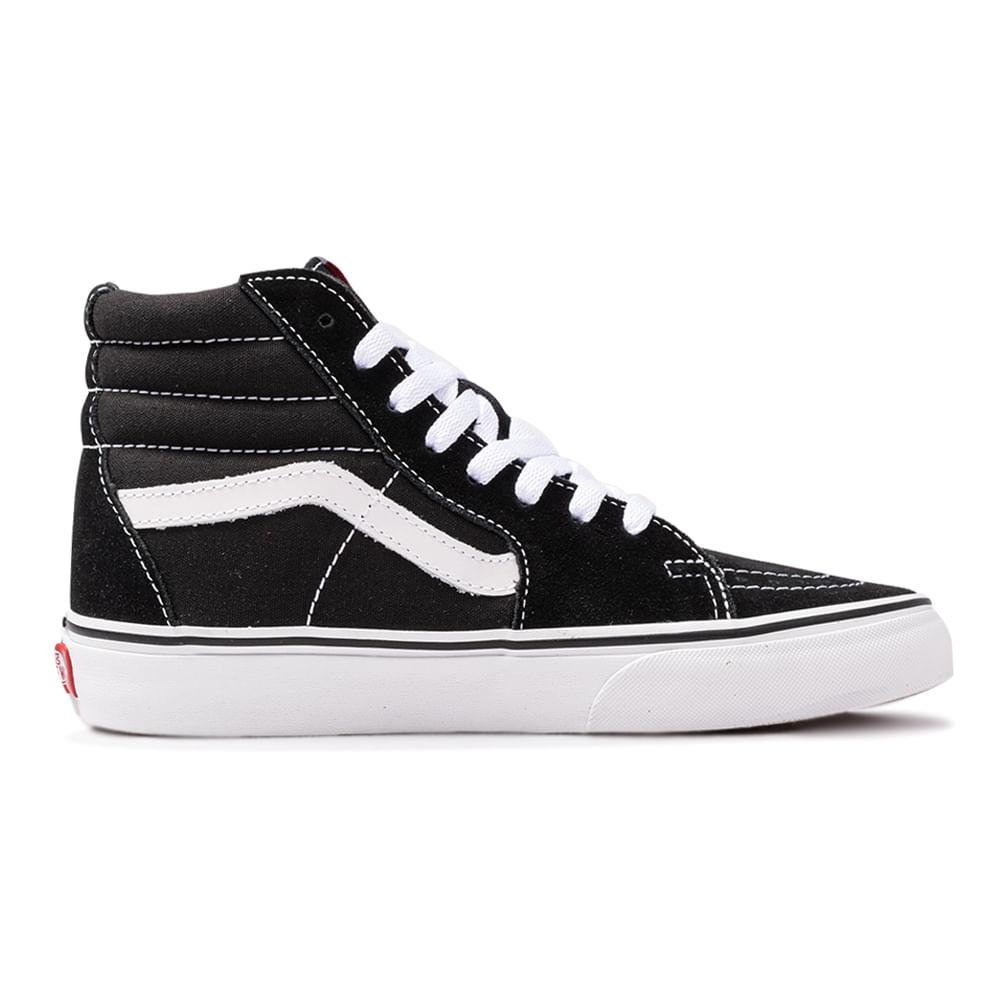 Tênis Vans Sk8 Hi - Black/White