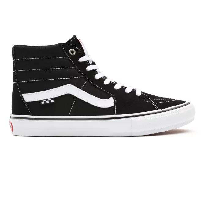 Tênis Vans Skate Comfycush Sk8 Hi - Black/White