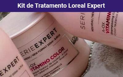loreal professionnel vitamino color a-ox tratamento kit 3 produtos - ca