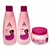 Alkimia Cosmetics Kit Tratamento Cachos 3x500ml