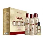Avlon KeraCare SOS Reconstrução Extrema - Caixa com 4 Produtos - G