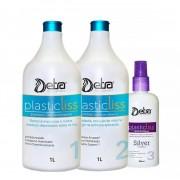 Detra Kit Escova Progressiva Plastic Liss 1litro - Sem Formol - R