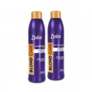Detra Shampoo Blond Care + Restore Blond Care - 2x1L - R