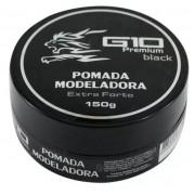 G10 Pomada Modeladora Black Extra Forte 150g