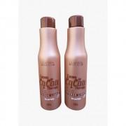 Glatten Progressiva Cacau Kit Shampoo + Redutor 2x1L - T