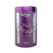 Kellan Máscara Matizadora Blond Mask 1kg - Matização Sem Amarelo