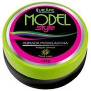 Live Life Pomada Modeladora Model Style - 140gr