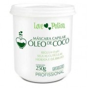Love Potion Máscara de Hidratação Óleo de Coco 250gr - T