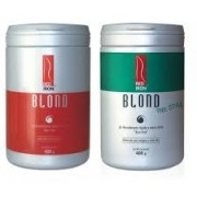 Red Iron Blond Pó Descolorante Forte 400g + Red Iron Blond Free Style Pó Descolorante Extra Forte 400gr