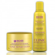Richée Profissional Clinic Repair System Kit Shampoo e Máscara Revitalizante Bio Avançado - T