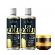 Salvatore Kit Blue Gold 500ml + Máscara Oka Ojon 500ml