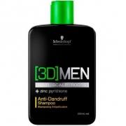 Schwarzkopf 3DMEN Shampoo Anti Caspa 250ml