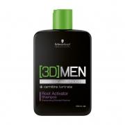 Schwarzkopf 3DMEN Shampoo Ativador 250ml