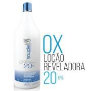 Souple Liss - OX Loção Reveladora Água Oxigenada 20 Volumes 900ml - T