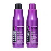Tazin Cosméticos Kit Matizador Platinado Shampoo 500ml e Máscara 500g