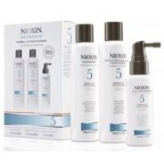 Wella Kit Nioxin System 5 Para Cabelos Normais a Espessos - 3 Produtos