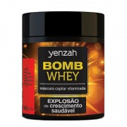 Yenzah Whey Bomb Cream - Mascara Capilar Vitaminada 480g