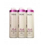 YKAS Liss Treatment Rubi Kit 3x1L
