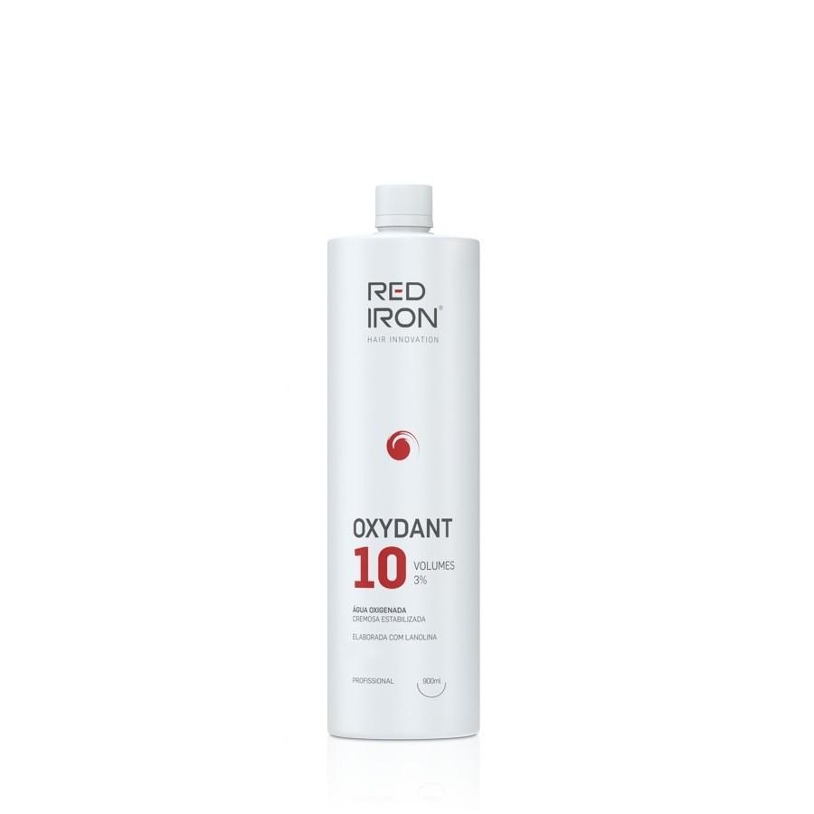 Água Oxigenada Red Iron Vol. 10 - Frasco De 900ml Ox Red Iron