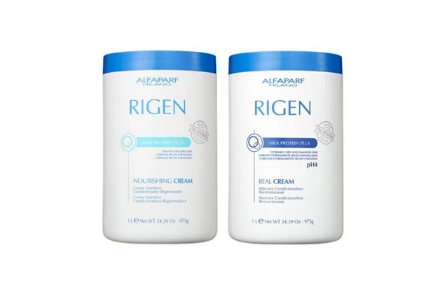 Alfaparf Duo Rigen Milk Protein Plus Nourishing+Rigen Milk Protein Plus Real Cream 2x1kg