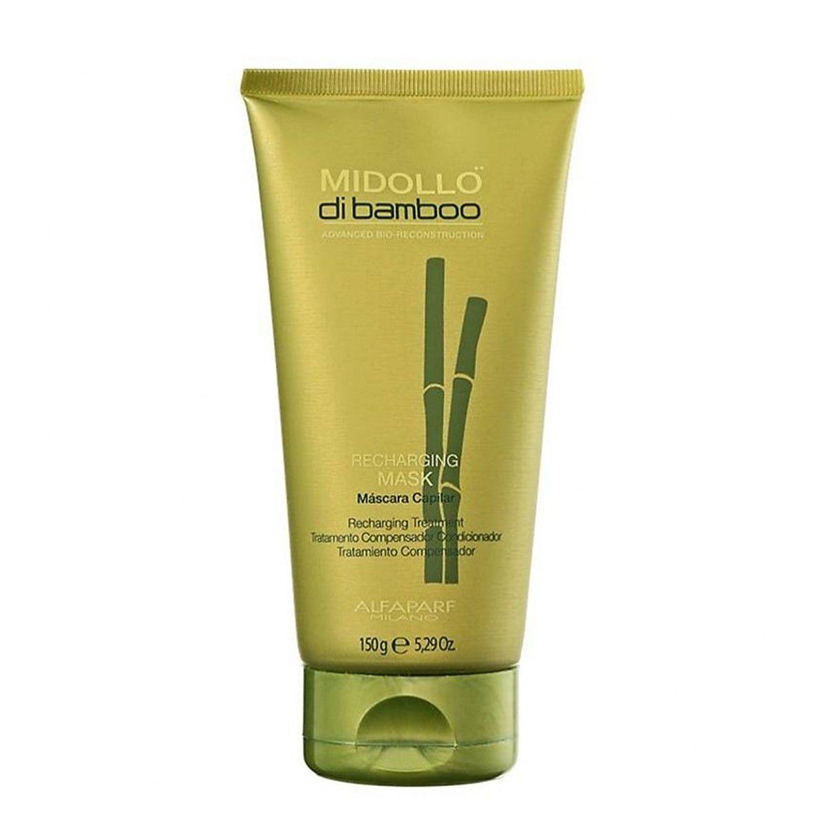 Alfaparf Midollo di Bamboo Recharging Mask - Máscara 150g