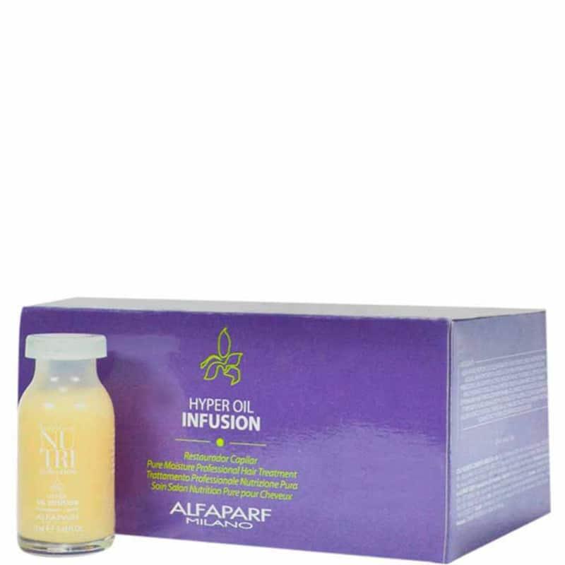 Alfaparf Nutri Seduction Hyper Oil Infusion - Tratamento 6x13ml