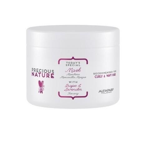 Alfaparf Precious Nature Grape e Lavender Mask - Máscara de Tratamento Capilar 500g