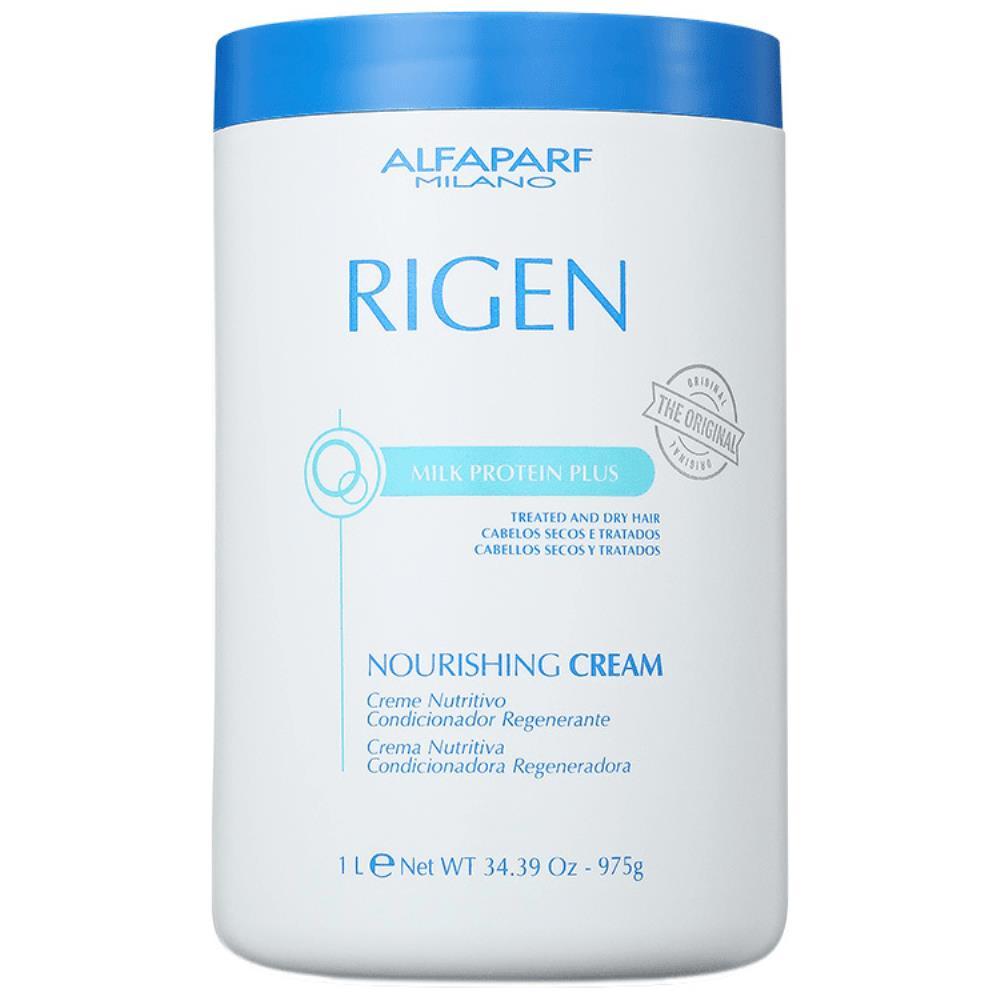 Alfaparf Rigen Milk Protein Plus Nourishing Cream - Máscara de Tratamento Alfaparf Rigen 1Kg