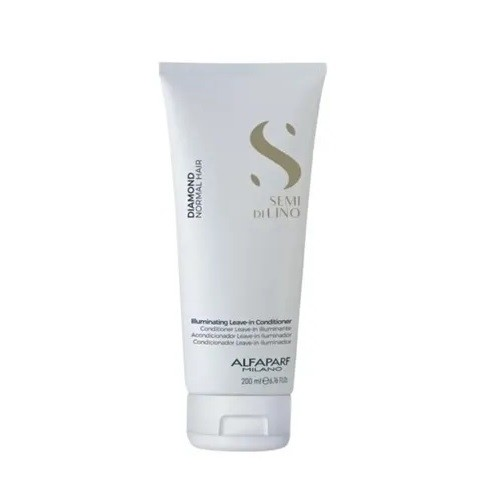 Alfaparf Semi di Lino Diamante Illuminating Leave-in Detangling Cream - Creme Para Pentear 200ml
