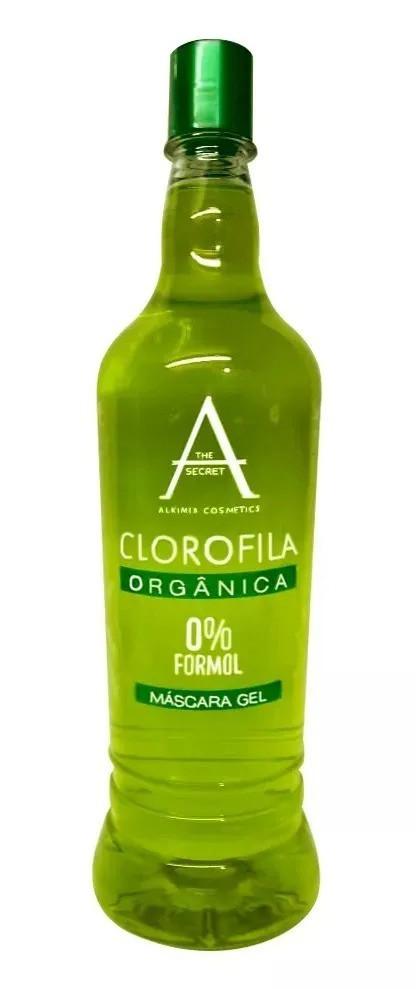 Alkimia Cosmetics Escova Progressiva Clorofila 0% Zero Formol Babosa 900ml