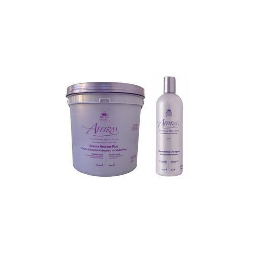 Avlon Kit Relax Sódio Normal Plus 1,8kg + Normalizing Shampoo 475ml peq. - G
