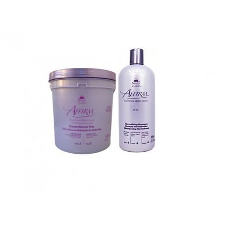 Avlon Relaxamento Kit Sódio Normal PLUS 1,8Kg + Shampoo Normalizing 950ml - G