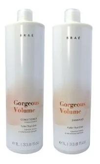 Braé Gorgeous Volume Shampoo e Condicionador