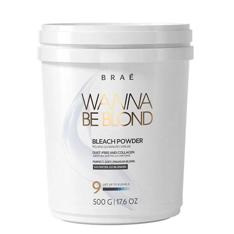 Braé Pó Descolorante Wanna Be Blond 500g