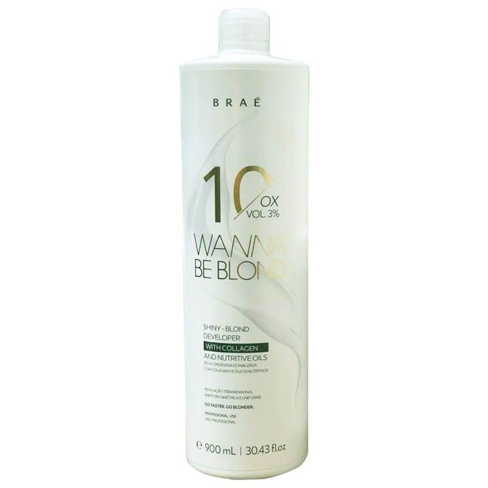 Braé Wanna Be Blond 10 Vol Ox - 900ml
