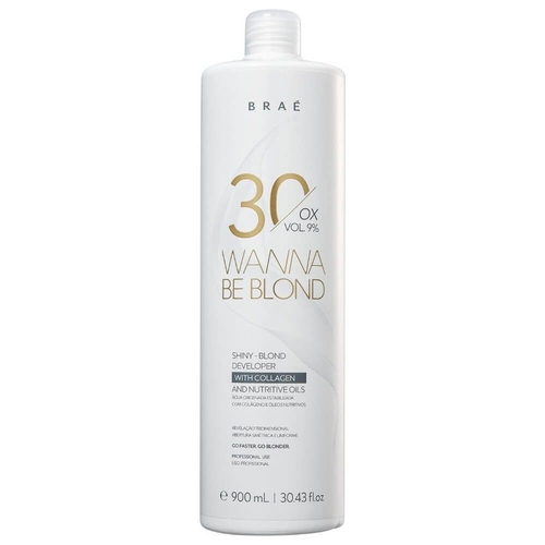 Braé Wanna Be Blond 30 Vol Ox - 900ml