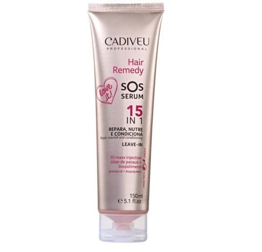 Cadiveu Professional Hair Remedy SOS Serum 15 em 1 - Leave-in 150ml - P