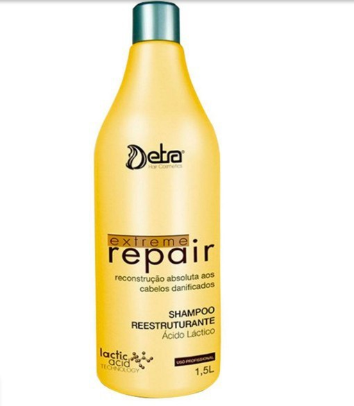 Detra Extreme Repair Shampoo Reestruturante 1,5L - R