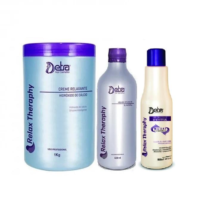 Detra Kit Hidróxido de Cálcio 1kg + Detra Guanidina Líquido Ativador 500ml + Neutralizante Universal 500ml